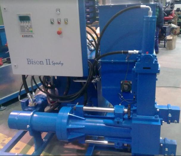 Гидравлический брикетировщик Bison-500