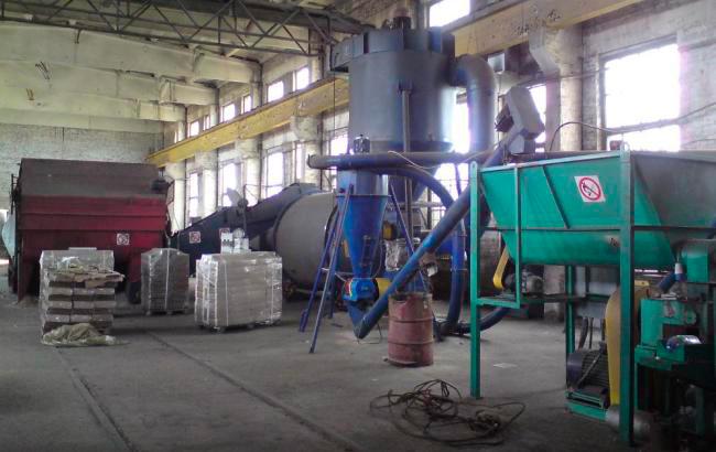 Линия по производству брикетов