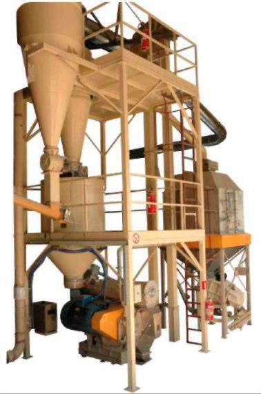 Линия гранулирования биотоплива